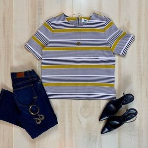 Old Navy Striped Poly Top